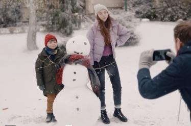GPay snowman